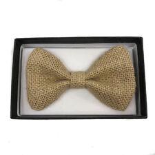 Tuxedo Ivory Vintage style Bow Tie wear Adjustable Unisex Formal Pre-Tie