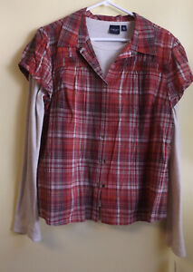 SONOMA  Ladies Blouse w tee / Size XL / NWT