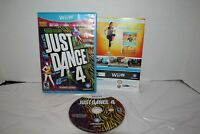 Just Dance 4 (Nintendo Wii U, 2012) CIB Complete