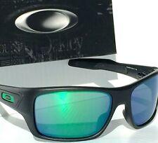 b5fc613761 NEW* Oakley TURBINE MOTO GP BLACK Ink with JADE IRIDIUM LENS Sunglass  9263-15