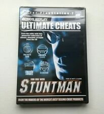 Action Replay Ultimate Cheats for Stuntman (PS2, PlayStation 2) Factory Sealed