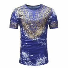 Trendy Clothing Graphic O-Neck Floral Style Athletic sports summer Party shirt