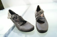 schicke TAMARIS Damen Schuhe Pumps Sandalen High Heels braun Leder Gr.38 Neu #49