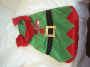 ELF COAT FOR A DOG BRAND NEW WITH TAGS SIZE S/M