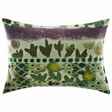 Tracy Porter Poetic Wanderlust Hazel Oblong Decorative Throw Pillow Purple Green