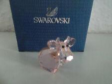 Swarovski figura lovlots mini mo en rosa, personaje de vidrio