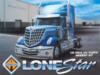 Moebius International Lonestar 1:25 scale model truck kit new 1300