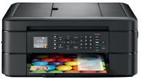 Brother MFC-J485DW Wireless All-In-One Color Inkjet Printer Scanner. NEW!