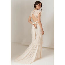 Spell and The Gypsy Collective Brooklyn Gown S Small off White