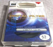 52mm Digital CIRCULAR POLARIZER PL Lens Glass FILTER CPL 52 mm Japan Kenko CIRPL