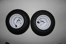 Huffy Slider Drift Trike Go Kart 3 Stud Wheel 10x4.50-5 Rim&Tyre 2 Set Steel Rim