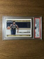 2019 Panini Contenders #1 Zion Williamson Draft Class RC Rookie Card PSA 9 Mint