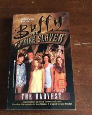 BUFFY THE VAMPIRE SLAYER THE HARVEST BOOK BTVS