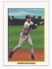 2006 Topps Turkey Red Derek Jeter White #450 New York Yankees