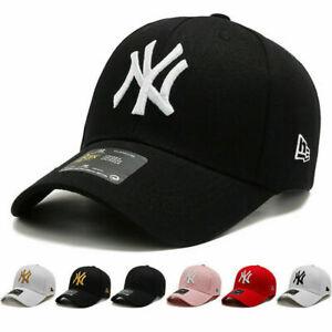 Snapback Cappy Cap Kappe Mütze Basecap NY New York Schwarz Weiss Herren 53-63cm