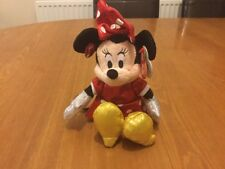 5e42afd3bf6 Disney TY Beanie Babies Minnie Mouse Sparkle With Sound Red Brand New