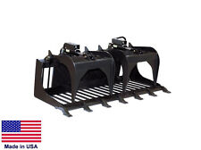 GRAPPLE ROD BUCKET - Commercial - for all Skid Steers - Digging, Rooting  6.3 Ft