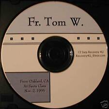 """Fr Tom W """"alcoholism a lot like dancing with a gorilla"""" Alcoholics Anonymous CD"""