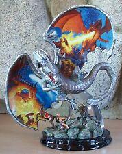 Realm of the Dragon HARNESSING EVIL #7 Statue Mythical Magic Figurine MIB + COA