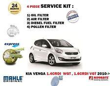 für Kia Venga 1.4 1.6 CRDi WGT VGT 2010- > ÖL- LUFT- KRAFTSTOFF- Pollenfilter