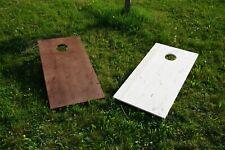 Cornhole / Sackloch / Bean Bag - Spielbrett (60x120cm) - Holz - Gebeizt