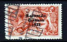 IRELAND 1922 IRISH FREE STATE Wider Thom Overprint on 5/- Seahorses SG 65 FU