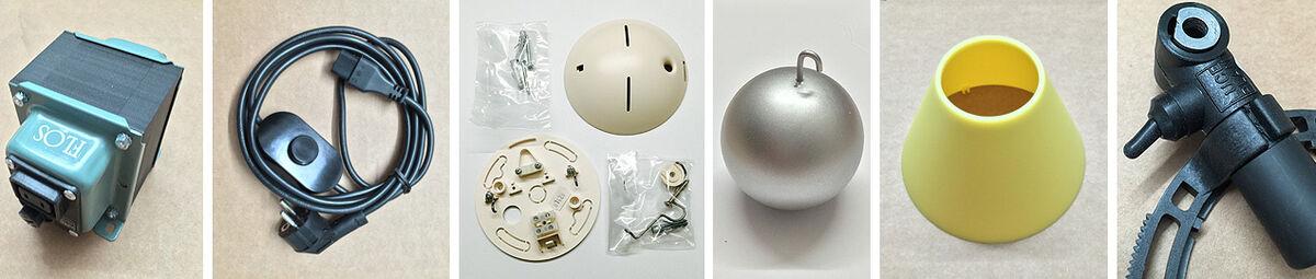 Designleuchten-Ersatzteile Shop