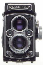 ROLLEIFLEX TLR Zeiss Tessar 1:3.5/75 twin lens reflex camera f=75mm coated lens