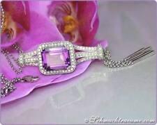 Halsketten und Anhänger mit Diamant natürliche Echtschmuck für Damen