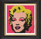 "Andy Warhol Original (1967) Signed Marilyn Monroe Pink - 15""x 15"" Fine Art Print"