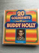 Buddy Holy-20 Golden Hits Vinyl album