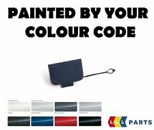 BMW E46 98-01 SALOON TOURING FRONT TOW HOOK EYE COVER PAINTED BY YOUR COLOR CODE