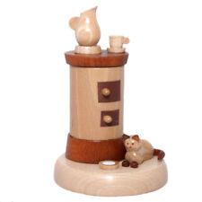 Räucherr Ofen mit Katze | mit Zertifikat: Echt Erzgebirge