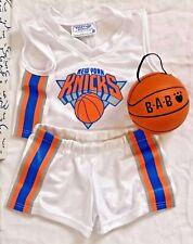 Build A Bear New York Knicks Basketball Uniform Nba 3 Pc Set Ny Ball Costume Lot