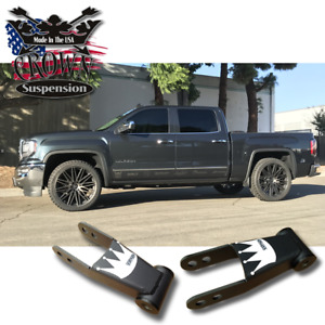 "Crown Suspension Chevrolet Silverado GMC Sierra 1-2"" Lowering Drop Shackles"