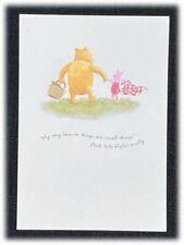 Vintage Classic Pooh Hallmark To A Friend Blank Card