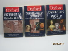 Oxford Reference Books, Lot of 3 Books
