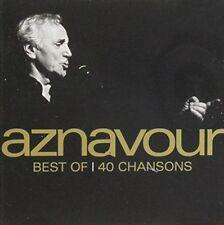 CHARLES AZNAVOUR - BEST OF: 40 SONGS NEW CD