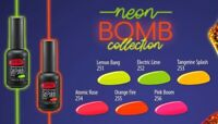 NEW! PNB NEON BOMB New 2020 Collection UV/LED Colour Gel Nail Polish 8ml 4ml