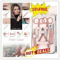 NEW Manicure Pedicure Nail Care Set Cutter Cuticle Clippers Kit