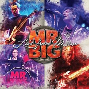 MR.BIG - LIVE FROM MILAN (GATEFOLD/BLACK/180 GRAMM)  3 VINYL LP NEW!