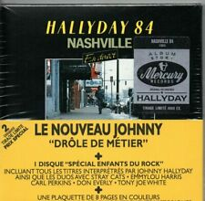 JOHNNY HALLYDAY ; Hallyday 84 Nashville - BOITIER 2 CD NEUF SOUS CELLO