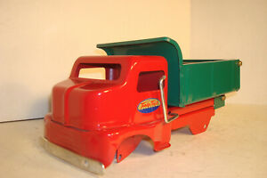 TONKA 50TH ANNIVERSARY.PICKUP DELIVERY DUMP TRUCK FOR PARTS OR RESTORE NO WHEELS