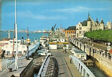 BG5324  ponton flandria  car voiture ship bateaux   antwerpen anvers  belgium