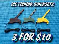 Winter Special - Quickset Automatic Tip Up Ice Fishing hook setters