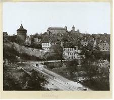Allemagne, Nürnberg Vintage print. Photomécanique  20x25  Circa 1890
