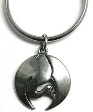 (represents peace and friendship) Care keyring - Crane