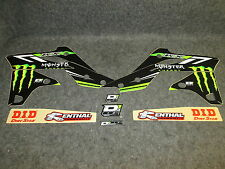 KAWASAKI KXF250 2013-2016 d Cor MONSTER ENERGY graphique+Kit plastique 10-20624