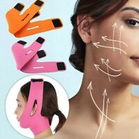Facial Thin Face Slimming Bandage Mask Belt Shape V Lift Reduce Double Chin US