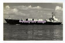 pf3020 - German Container Ship - Elbe Express , built 1968 - photograph